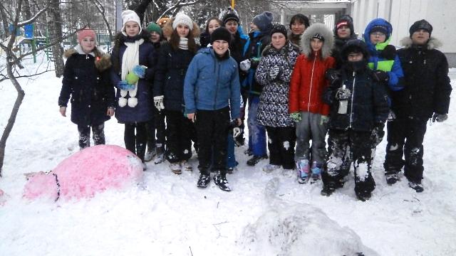 Фестиваль снежных скульптур Морозко 2016-01-13
