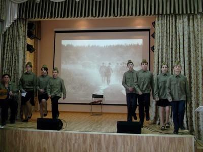 Литературно-музыкальная композиция Московский дворик 2016-05-12